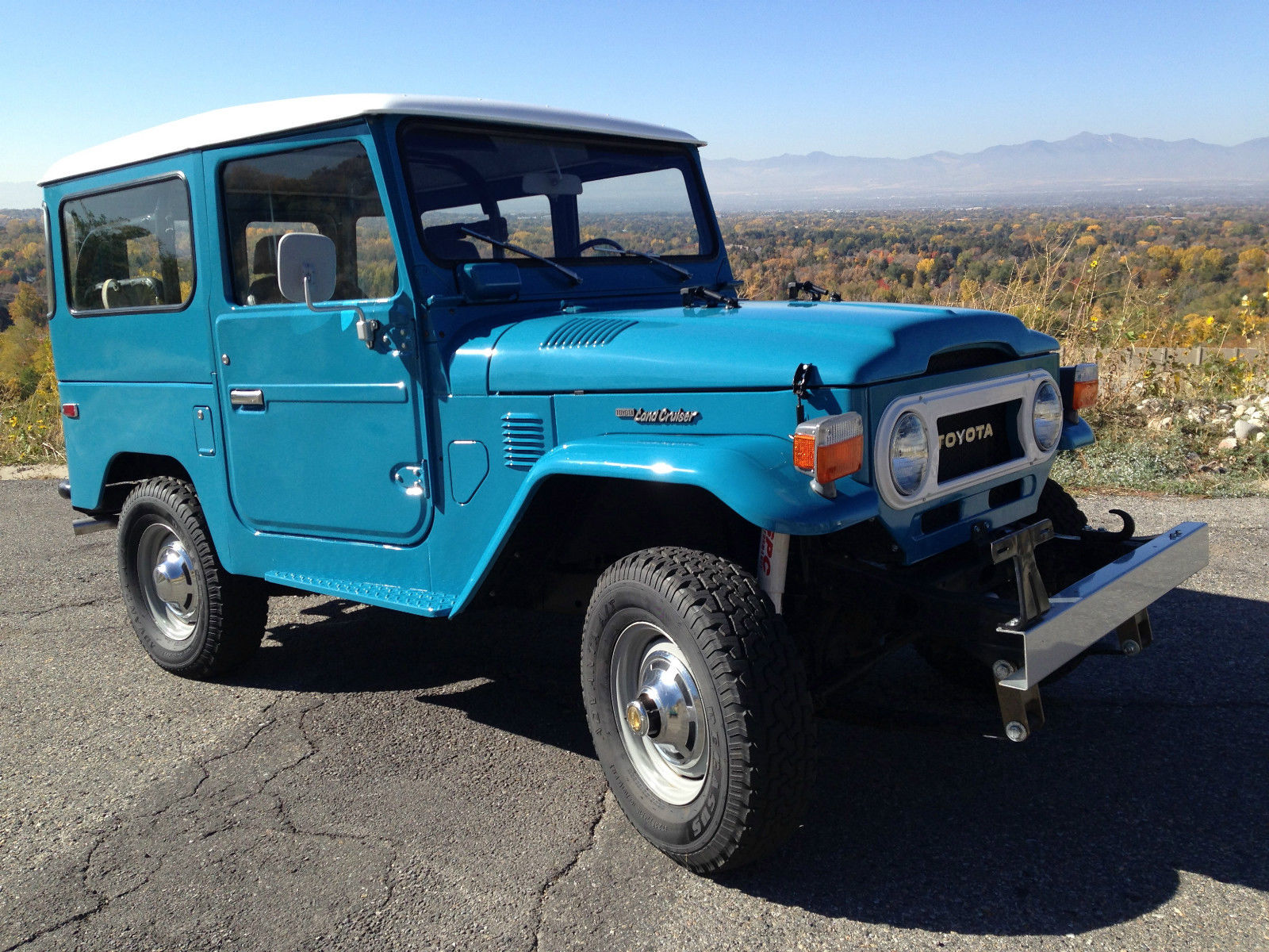 1976 fj40 toyota land cruiser 4 4 frame off restoration. Black Bedroom Furniture Sets. Home Design Ideas