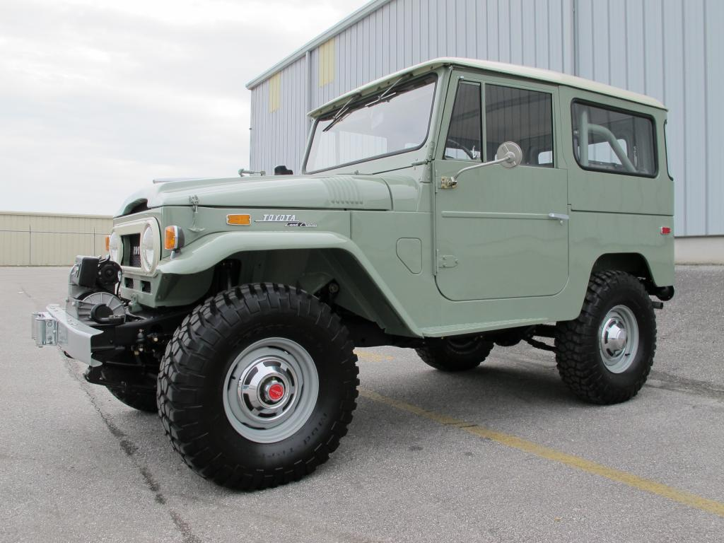 Bj40 Cruiser Fj40 Land Toyota