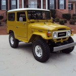1981 Toyota Land Cruiser FJ40 restoration