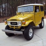 1981 Toyota Land Cruiser FJ40 restoration b