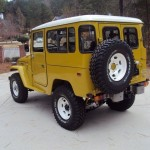 1981 Toyota Land Cruiser FJ40 restoration c