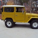 1981 Toyota Land Cruiser FJ40 restoration d
