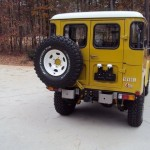 1981 Toyota Land Cruiser FJ40 restoration e