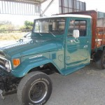1980 Toyota Land Cruiser HJ45 Flatbed