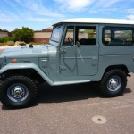 1973 FJ40 TOYOTA LAND CRUISER RESTORED CLEAN 4X4 A