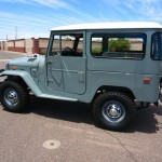 1973 FJ40 TOYOTA LAND CRUISER RESTORED CLEAN 4X4  B