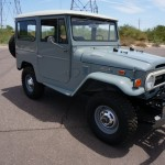 1973 FJ40 TOYOTA LAND CRUISER RESTORED CLEAN 4X4  H