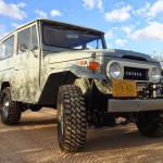 toyota land cruiser 1973 frame off restoration a