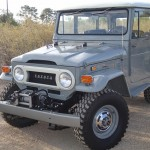 toyota land cruiser 1973 frame off restoration b