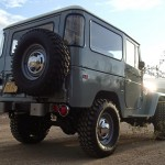 toyota land cruiser 1973 frame off restoration d