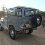 toyota land cruiser 1973 frame off restoration g