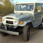 toyota land cruiser 1973 frame off restoration h