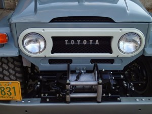 toyota land cruiser 1973 frame off restoration j