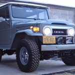 toyota land cruiser 1973 frame off restoration k