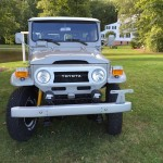 toyota land cruiser 1975 fj40 rare japan clean a