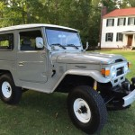 toyota land cruiser 1975 fj40 rare japan clean b