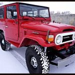 1975 red fj40 land cruiser i