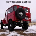 1975 red fj40 land cruiser j