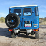 1980 fj40 blue toyota Land Cruiser b