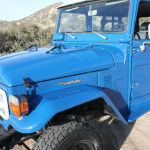 1980 fj40 blue toyota Land Cruiser c
