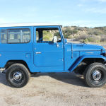 1980 fj40 blue toyota Land Cruiser d