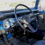 1980 fj40 blue toyota Land Cruiser f