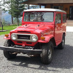 1971 Toyota Land Cruiser FJ40 RED JAPAN A