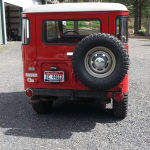 1971 Toyota Land Cruiser FJ40 RED JAPAN C