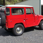 1971 Toyota Land Cruiser FJ40 RED JAPAN D