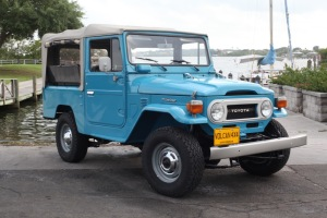 VOLCAN 4X4 RESTORED TOYOTA FJ43 LAND CRUISER SOFT TOP STOCK JAPAN A