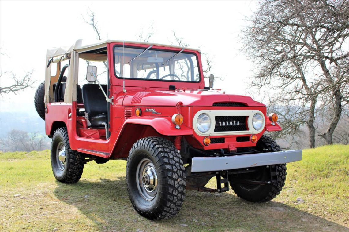 Toyota Fj40 For Sale >> Land Cruiser Of The Day Enter The World Of Toyota Land Cruisers